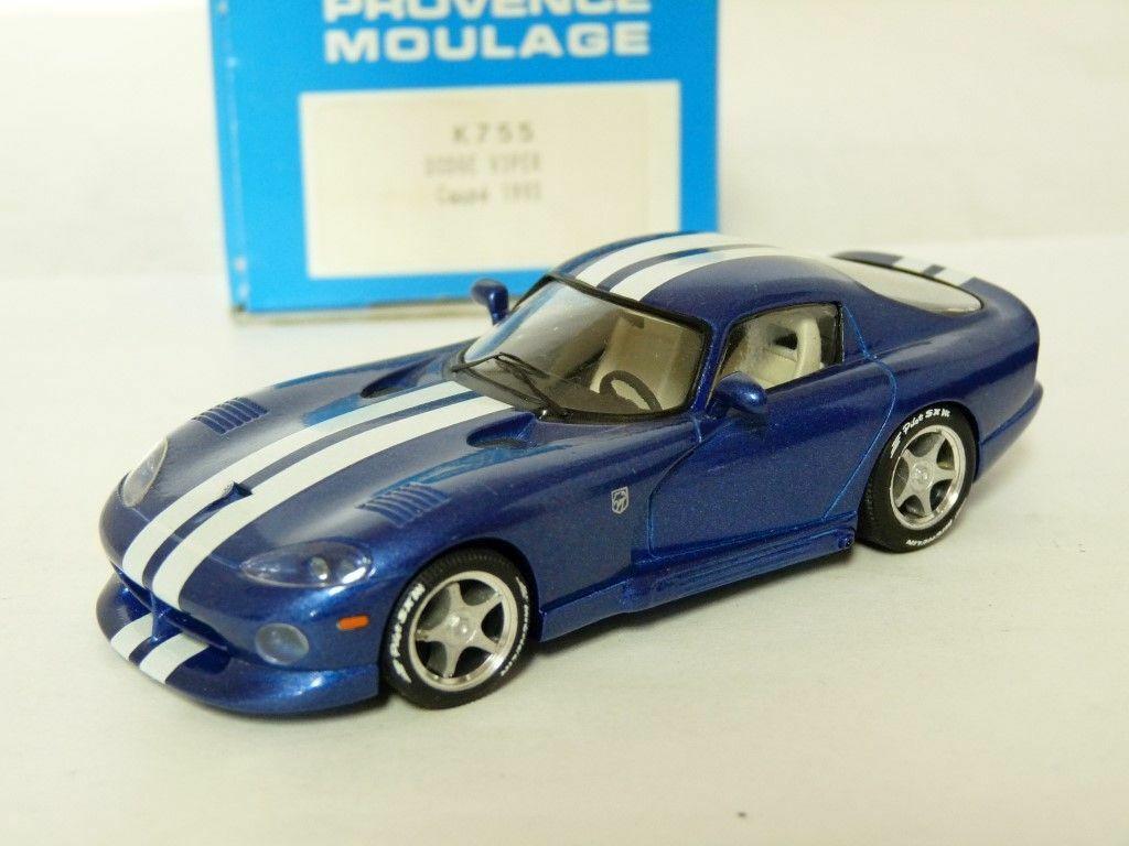 Provence Moulage K755 1 43 1993 Dodge Viper GTS Resin Handmade Model Kit Car