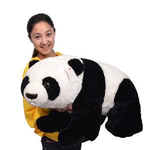 "Hot 31.5"" (80cm)Huge Stand-Up Panda Bear Stuffed Animals Plush Soft Toys Xmas"