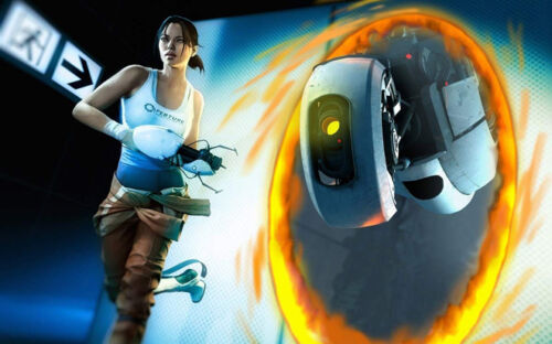 """Portal 2 Hot Game Wall Poster 21/""""x13/""""  P024"""