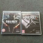 Call of Duty Black Ops & Black Ops II (2) PS3 games with zombie mode