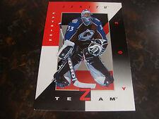 1997-98 Zenith Hockey---Z-Team Jumbo---Patrick Roy---Card 3/9---5x7---See Pix