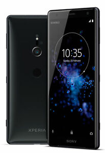 Sony-Xperia-XZ2-64GB-Liquid-black-Unlocked-Single-SIM-Canadian-Model