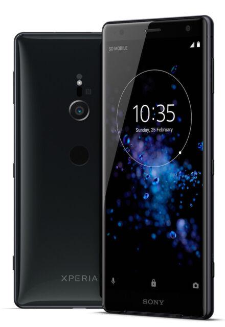 Sony Xperia XZ2 - 64GB - Liquid black (Unlocked) (Single SIM) Canadian Model