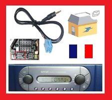 Cable aux auxiliaire adaptateur mp3 pour SMART 450 GRUNDIG de 1998 1999 2000