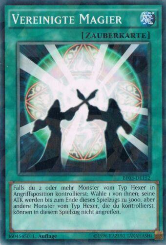 BP03-DE152 Vereinigte Magier   Common  1 Auflage Neu