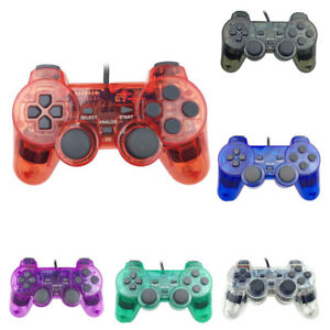 ALS-Wired-Dual-Shock-Game-Controller-Joypad-for-Sony-Playstation-2-PS2-Proper