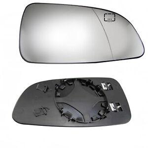 Lado-Derecho-Espejo-Lateral-Calentado-Cristal-para-Opel-Vauxhall-Astra-H