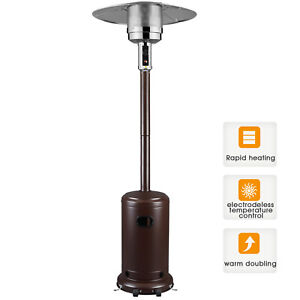Image Is Loading Garden Radiance Outdoor Patio Heater  Stainless Steel Propane