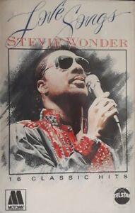 Stevie Wonder-Love Songs Cassette.1984 Telstar STAC 2251.For Once In My Life+