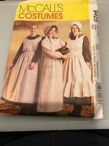 McCall-039-s-costume-Pattern-9423-prairie-western-Pioneer-size-women-039-s-8-10-uncut