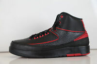 Nike Air Jordan Retro 2 Alternate 87 Black Red BG GS 834276-001 3.5-7 Y 11 3 4