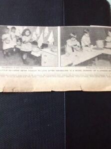 68-9-Ephemera-1919-Picture-X-2-New-Model-London-Nursery