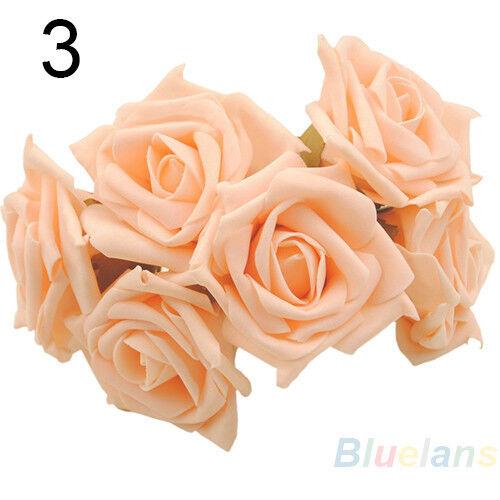 Beauty Bridal Bouquet Rose Flower Party Wedding Bridesmaid Decoration Cute B75U