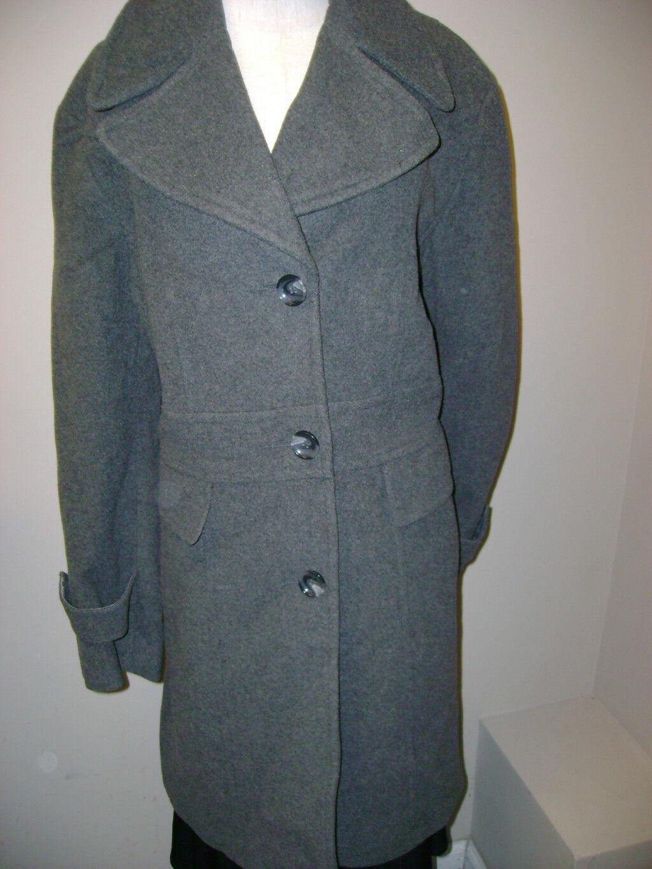 Kenneth Kenneth Kenneth Cole Wool Blend Single Breasted Coat 16W NWT c298ff