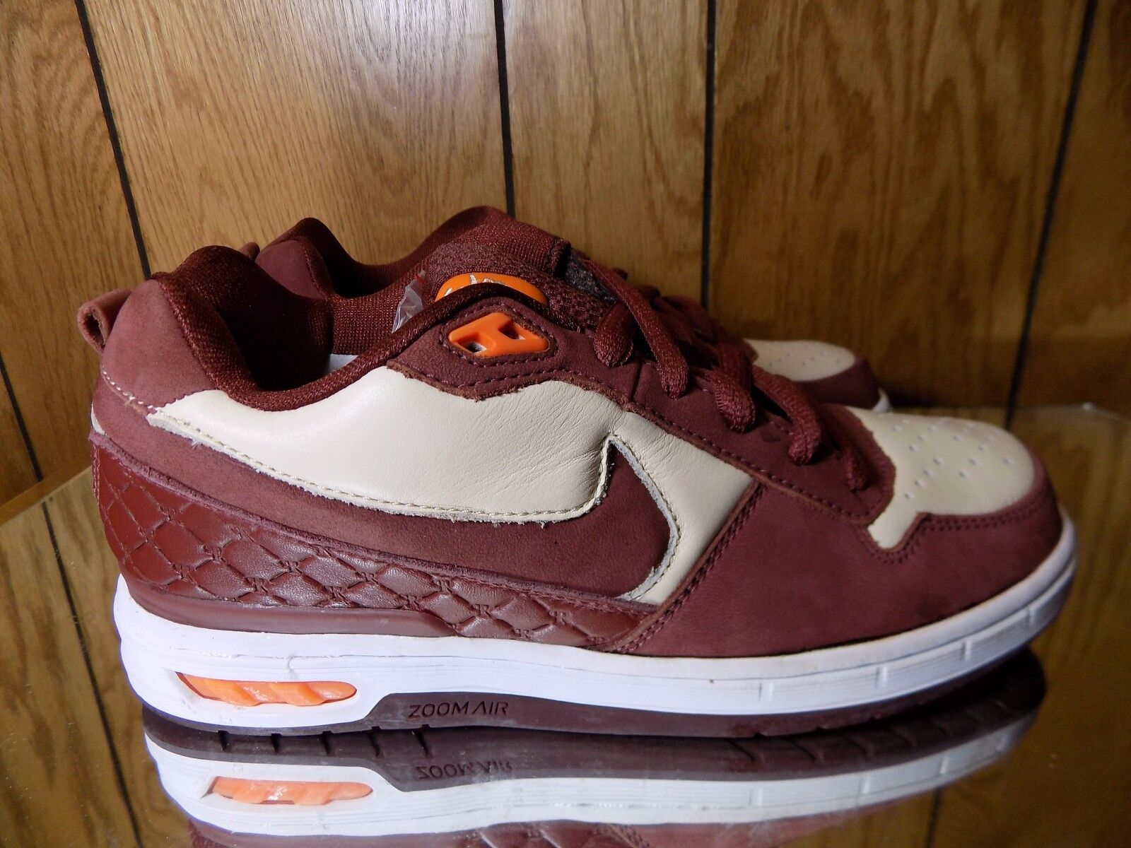 Nike sb sb sb paul rodriguez p-rod 1 dimensioni 6 Marroneee arancione | Vogue  b26e3d