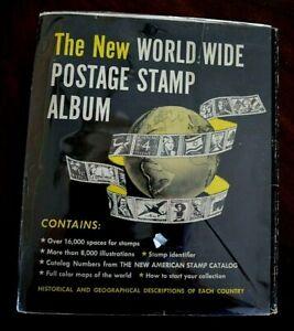 CatalinaStamps-The-New-WW-Postage-Stamp-Album-Minkus-1967-400-Stamps-D14