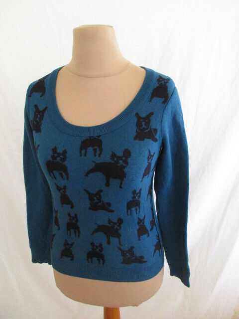 Sweater Comptoir Des Cotonniers bluee Size S to - 61%