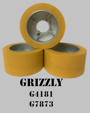 Wheels For 1hp Grizzly G4181 Power Feeder Set Of 3