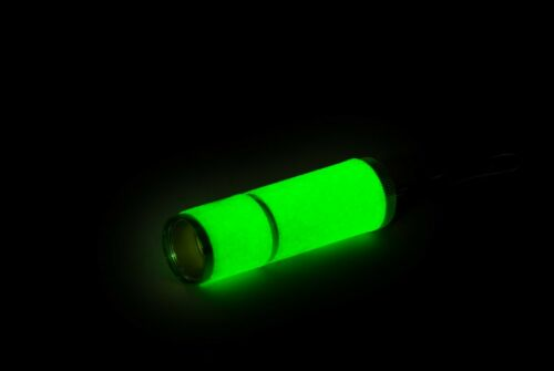 Pack of 2 COB LED Glow In The Dark Pocket Torch Security Portable Compact AU