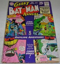 BATMAN ANNUAL #6 (DC Comics 1963) 80 PAGE GIANT (GD/VG) THRILLING MYSTERY CASES