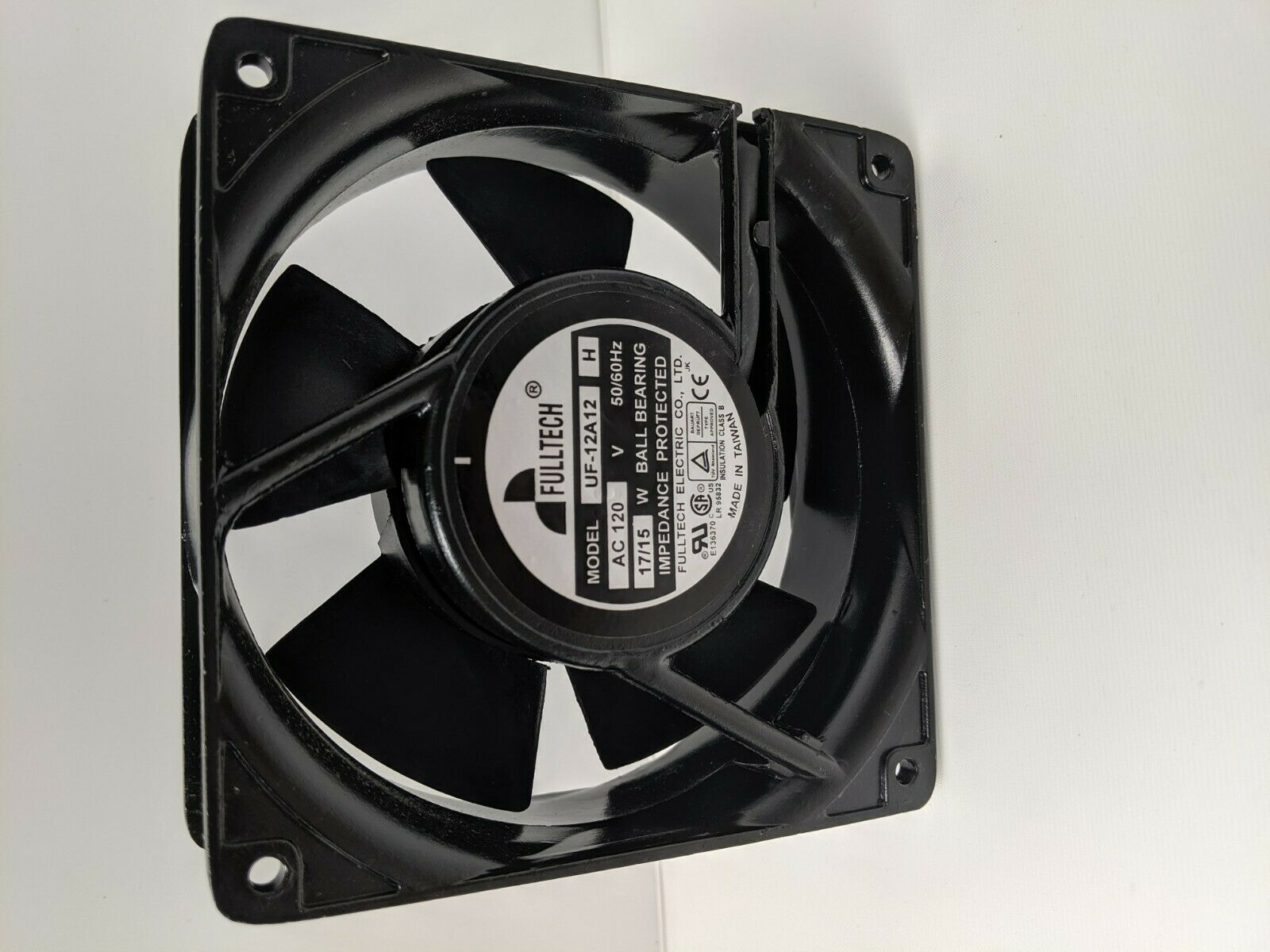 For FULLTECH UF-12A23BTH AC230 17//15W 120*120*38mm Axial cooling fan