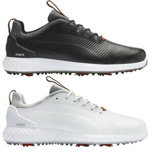 New 2020 Puma IGNITE PWRADAPT Leather 2.0 Golf Shoes -Choose Your Color and Size