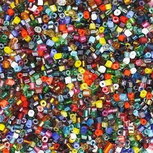 Czech-Glass-Seed-Bead-Color-Mix-One-Ounce-1oz-pack-Bead-Size-11-0-2-cut