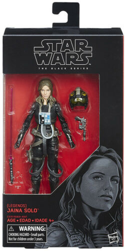 2017 Wave 5 Star Wars The Black Series 6 Inch Action Figure Jaina Solo #56