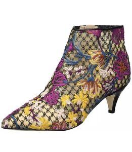 9e96cada68a62c Sam Edelman Kinzey Women s Size 8 Multicolor Floral Heeled Ankle ...