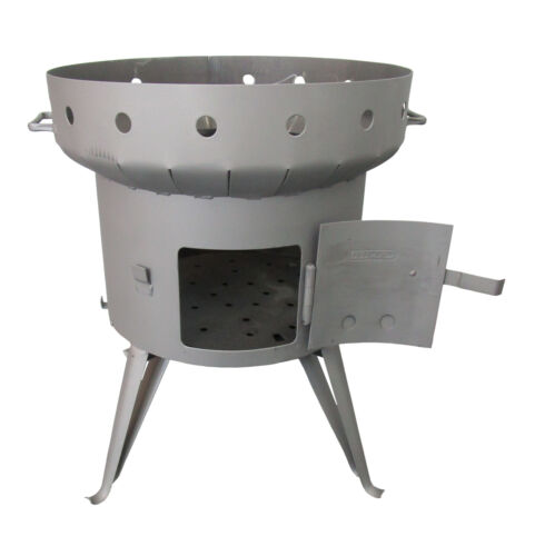 Utschak 28 L Liter Ofen Feldküche Feuer-Kessel Kasan Kazan Camping Utchag Ø 56cm