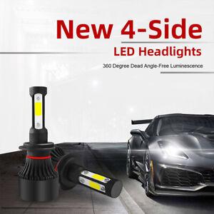 H7-36W-6000K-6000LM-Kit-faro-LED-COB-a-4-lati-Lampadine-Hi-Low-Power-360-IT