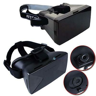 "Virtual Reality 3D Glasses for Samsung iPhone 4.7 5.5 6.5"" Google Cardboard PK"