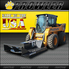 60 Inch Standard Duty Brush Mower, 11-20 GPM Flow, Skid Steer Cutter Attachment