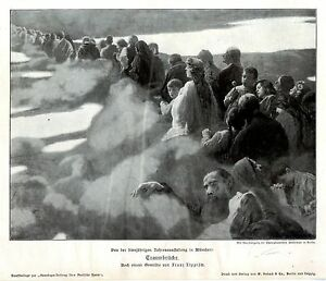 fest In Arkadien b01 Franz Von Lenbach Originalblatt Der Zeitschrift Jugend