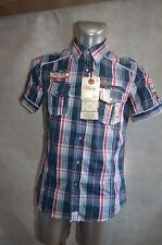 CHEMISE CARREAUX GANGSTER UNIT GU613 NEUF TAILLE S CAMISA/DRESS SHIRT/CAMICIA