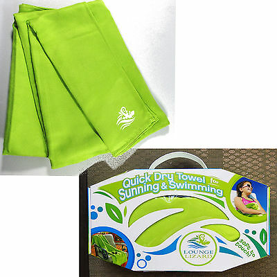 NIB Lounge Lizard Towel Absorbent Quick Dry Soft Compact Beach Pool Travel