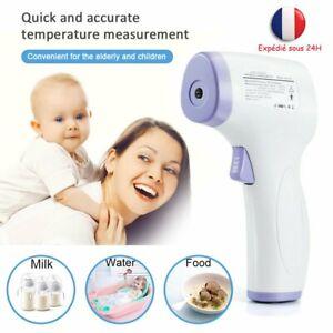 Thermomere-Frontal-Numerique-Infrarouge-pour-Enfant-Adulte-BeBe-Sans-Contact