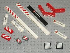 Lot de pieces + stickers LEGO TECHNIC for set 8071 Lift Truck / Autocollants