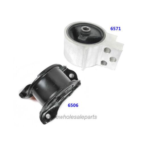 Engine Motor Mount 2PCS 6506 6571 M294 For Acura Integra 1.8L Honda Civic 1.6L