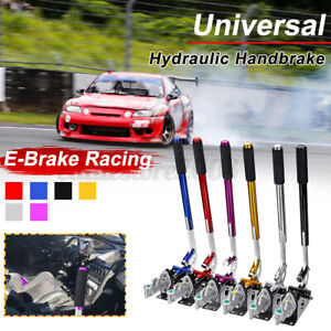 "25/"" Racing Hydraulic Hydro E-Brake Handbrake Drift Racing Gear Locking Lever US"