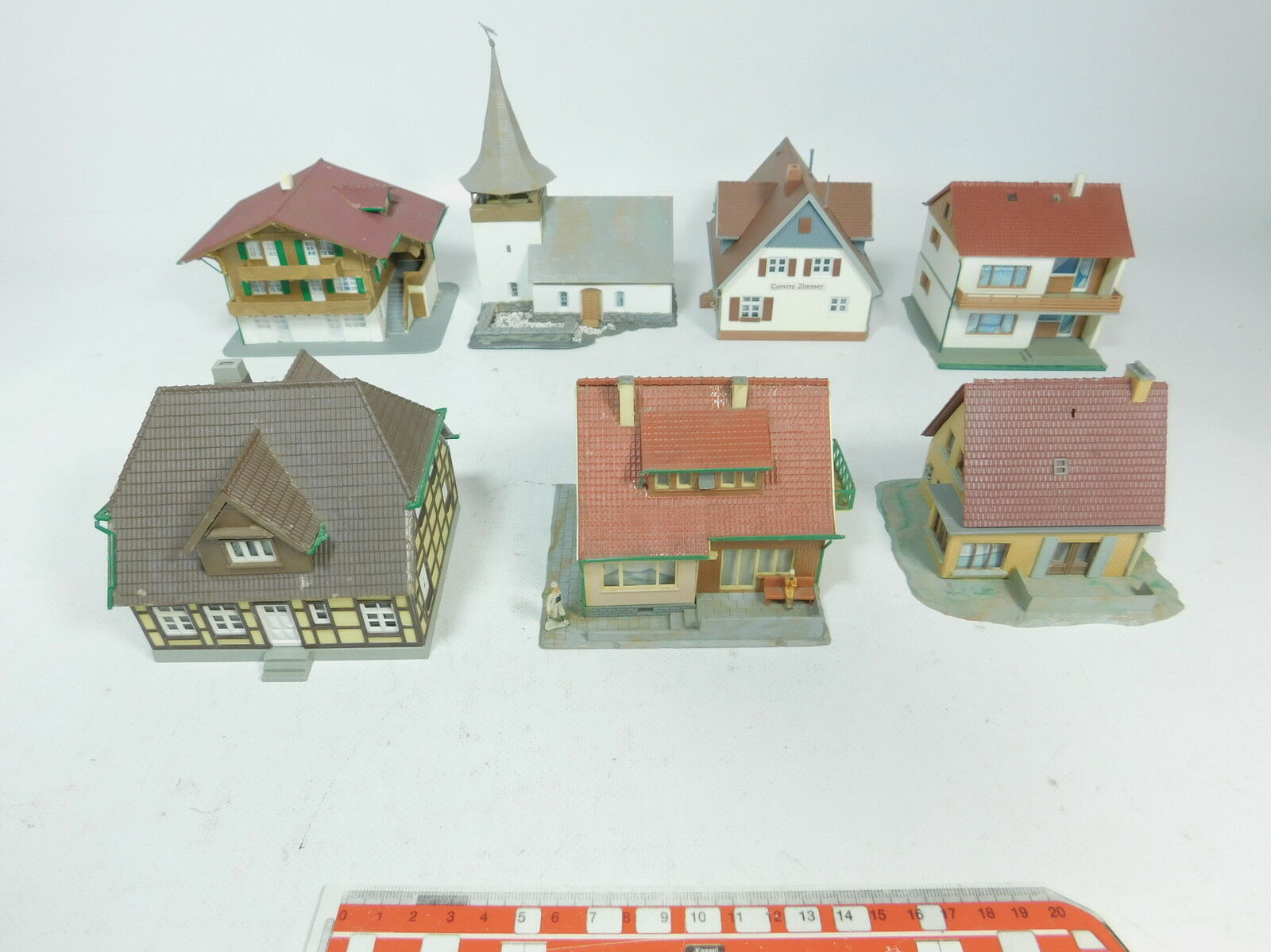 Az775-2x Kibri h0 modelo  iglesia + 919 c a 215 efh + d 613 MFH etc