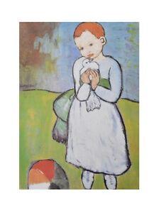 Robert Doisneau Les Pains de Picasso Poster Kunstdruck Bild 60x50cm