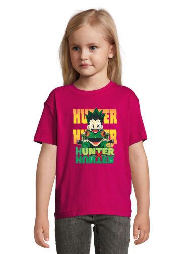 Hunter x Hunter Number One Anime Art Quality T Shirt Unisex Kid/'s