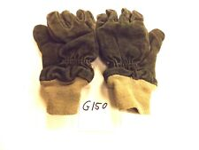 Large Gray Crosstech Gloves Turn Out Gear G150