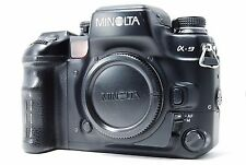Minolta Maxxum 9 / Dynax 9 35mm SLR Film Camera Body Only  SN16001605