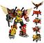 Transformers-WeiJiang-Predaking-Combiner-5-In-One-Set-Feral-Rex-Action-Figure thumbnail 5