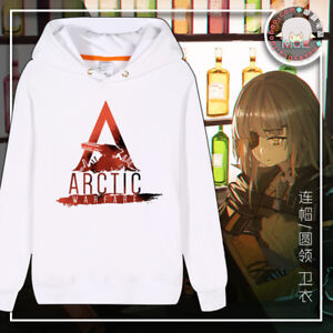 Anime-Girls-039-Frontline-Arctic-Unisex-Long-Sleeve-Hoodie-Harajuku-Pullover-White