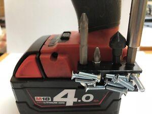 Magnétique Porte-embout Pour Milwaukee 18 V M18 Carburant Impact Marteau Perceuse-afficher Le Titre D'origine Renforcement De La Taille Et Des Nerfs