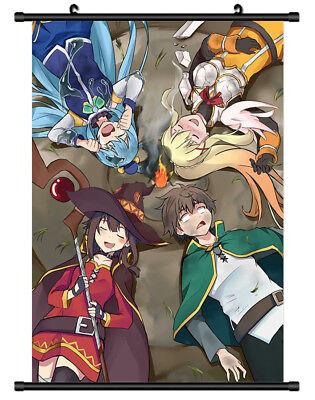 Decor Poster Wall Scroll cosplay 4713 Kono Subarashii Sekai ni Shukufuku wo