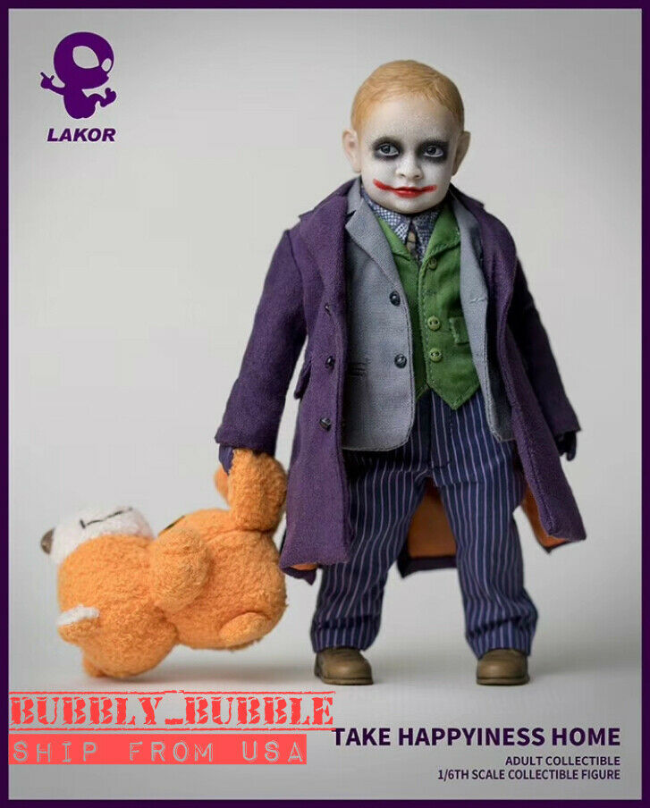 WeltBox Lakor 1 6 Scale Baby JOKER Collectible Figure Modell Set  SHIP FROM USA